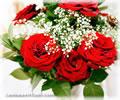Cliquez pour choisir un bouquet de roses rouges