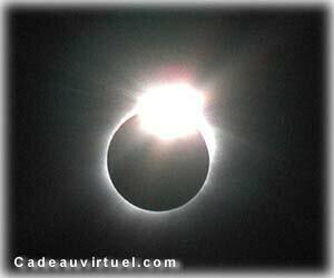 Une éclipse diamant