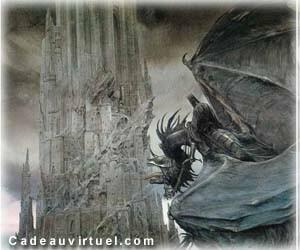Visite de la forteresse de Sauron, en Mordor