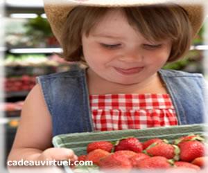 Humm des  fraises !