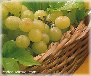 du raisin blanc