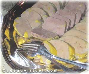 Choisis un morceau de foie gras