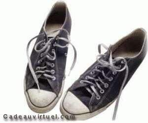 une nouvelle paire de chaussures