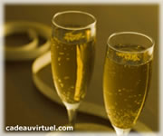 Cliquez pour choisir Deux coupes de champagne !