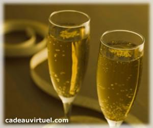 Deux coupes de champagne !