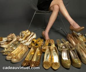 des chaussures à l'infini