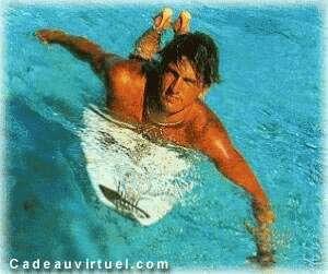 Une leçon de surf
