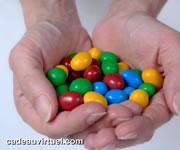Cliquez pour choisir des bonbons multicolores