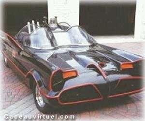 Une voiture d'exception la Batmobile !